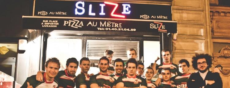 Slize, Sponsor Officiel du XV de la Crampe